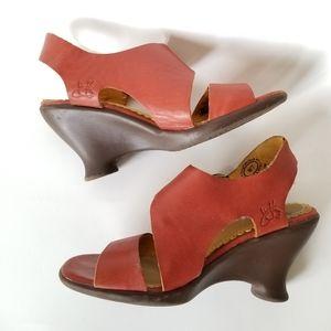 Fluevog Gloria Wedge Sandals